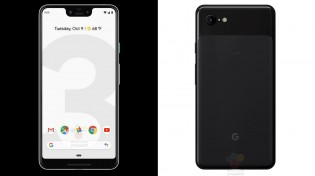Pixel 3 XL and Pixel 3 in black; Source: WinFuture.de