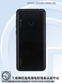 Huawei Honor 8C (BKK-AL10), photos by TENAA