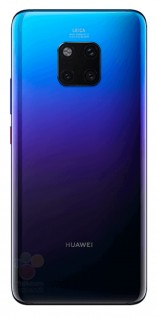 Alleged renders of the Huawei Mate 20 Pro