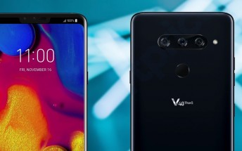 LG V40 ThinQ will have stereo Boombox speakers and Quad DAC