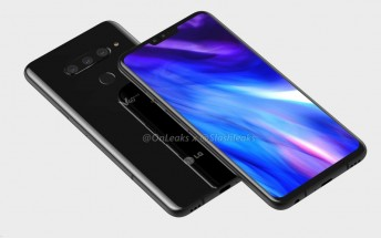 LG V40 ThinQ stops by the FCC in the US, hints at nearing launch