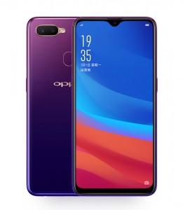 Oppo A7x in Starry Purple