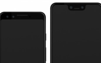 Here's another set of Pixel 3 and 3XL renders, with plenty of resolution to go around