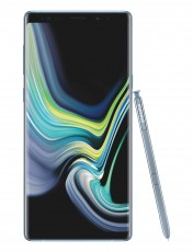 Samsung Galaxy Note9 in the new Cloud Silver color