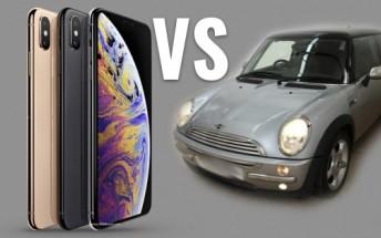 Sunday Debate: iPhone XS Max vs a used car