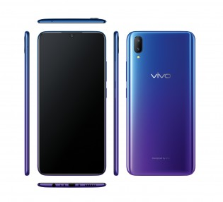 vivo V11 from all sides in Nebula
