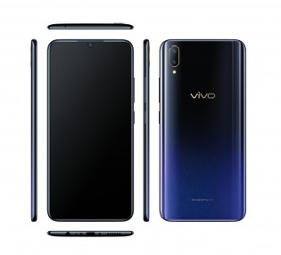 vivo V11 from all sides in Starry Black
