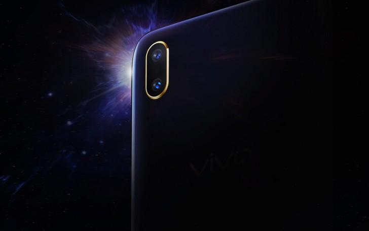 vivo V11 unveiled with in-display fingerprint scanner and waterdrop notch