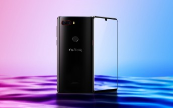 Borderless nubia Z18 is up for sale