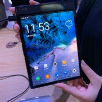 FlexPai is the world's first flexible phone/tablet and the first with Snapdragon 8150