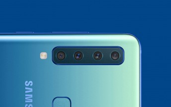 Samsung Galaxy A9 (2018) is the world's first quad camera smartphone