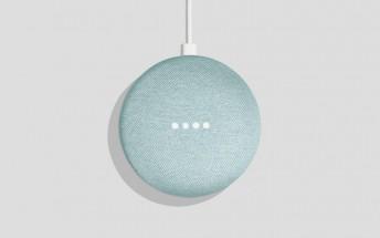 Google Home Mini gets a new Aqua color version