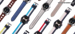 A wide variety of straps is available