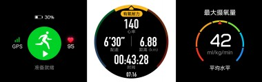 Advanced exercise tracking  features