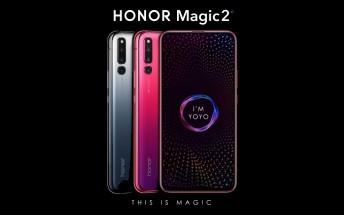 Honor Magic 2 slider arrives with six cameras and UD fingerprint scanner