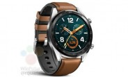 Huawei Watch GT smiles in leaked render ahead of unveiling alongside Mate 20