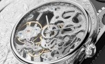 The skeleton watch in detail
