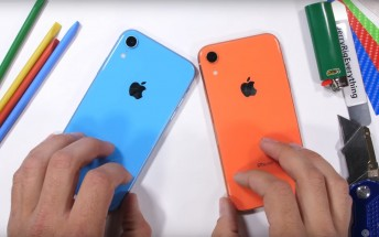 iPhone XR's build quality is on par with the XS, durability test reveals