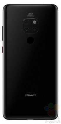 Mate 20 front back and side renders