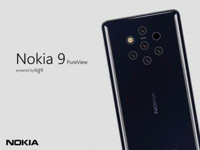 Nokia 9 PureView concept render