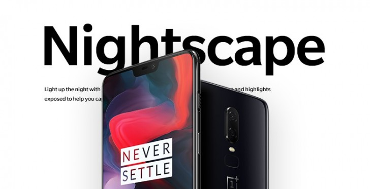 OnePlus 6 to get Nightscape and Studio Lighting camera features from the 6T