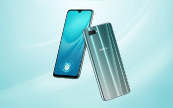 Oppo R15x is official with waterdrop notch, UD fingerprint scanner