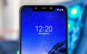 Poco says the Pocophone F1 light bleed  is software-related