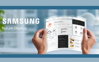 Samsung patent reveals flexible tablet design