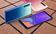 Samsung Galaxy A9 (2018) receiving Android Pie update