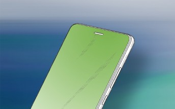 Huawei patents phone design with a hole in the display for the earpiece