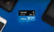 "Lexar unveils ""largest A2 microSD card"" at 512GB capacity"