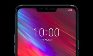 LG Q9 front panel leaks in first press render
