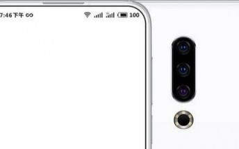Meizu 16S renders surface, reveal an in-display FP reader and notch-less design