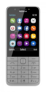 Nokia 230 in Light Gray