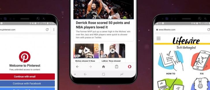 Opera for Android now blocks cookie dialog boxes