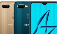 Yet another set of Oppo A7 renders spotted online