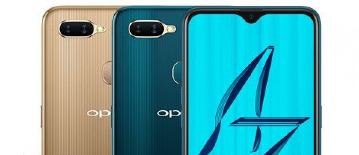 Yet another set of Oppo A7 renders spotted online - GSMArena