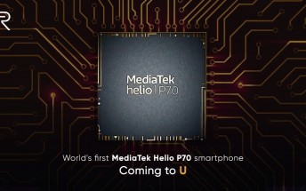 Realme U officially confirmed to sport MediaTek Helio P70