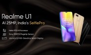 The first Realme U1 promo video is up