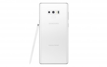White Samsung Galaxy Note9 leaks