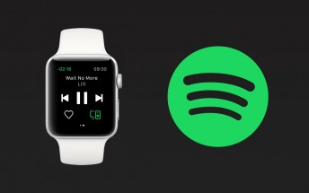 Spotify lands on Apple Watch, offers just remote control functionality for now