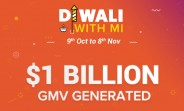 Xiaomi sold 6 million smartphones during Diwali, generates over $1B in revenue