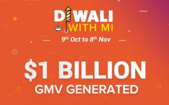 Xiaomi sold 6 million smartphones during Diwali, generates over $1B in revenue