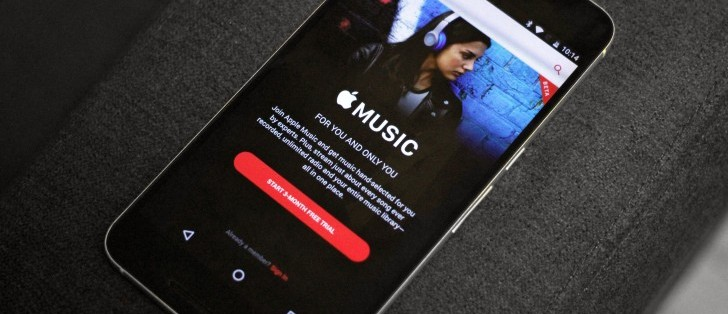 Android tablets finally getting Apple Music support