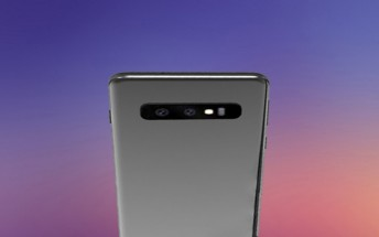 Samsung Galaxy S10 pictured with two cameras, S855-powered S10+ benchmarked