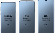 Samsung's Galaxy S10-series screen sizes revealed