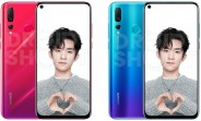 Our first good look at the Huawei nova 4 in leaked official renders