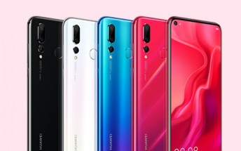 Huawei nova 4 with punch-hole screen camera goes on sale