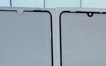 Screen protector leak shows a teardrop notch on the Huawei P30 Pro
