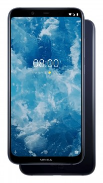 Nokia 8.1 in Blue / Silver